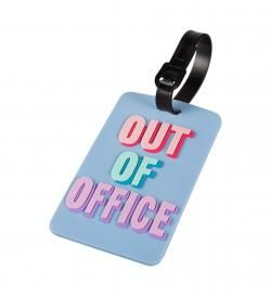 Багажная бирка out of office